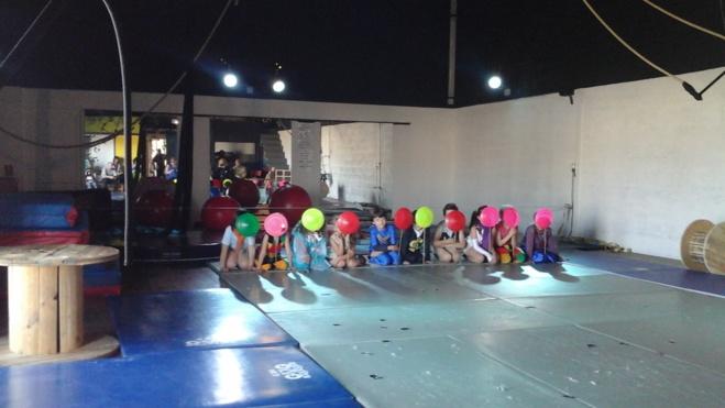 Restitution de l'Atelier de Cirque du mois de novembre