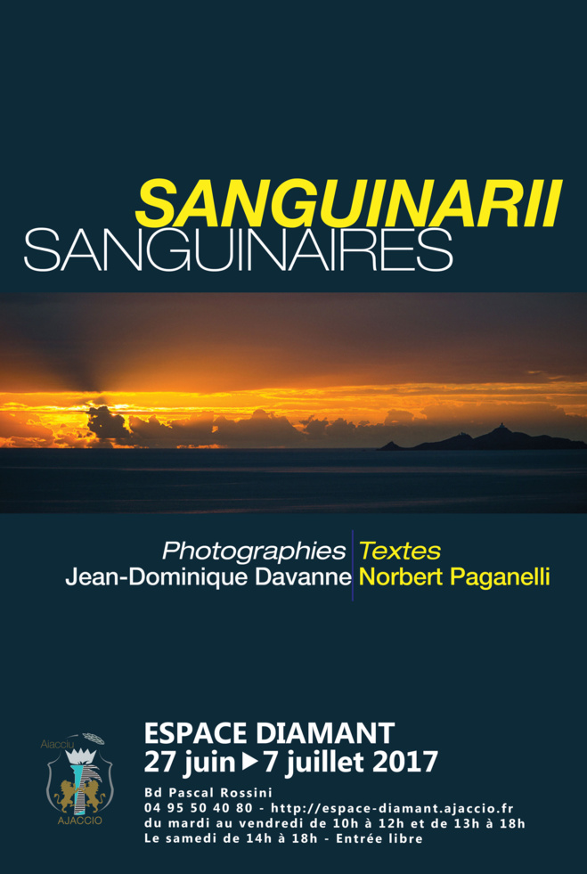 Exposition : Photo-poésie SANGUINARII