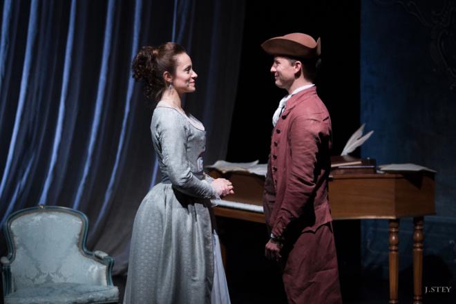 Théâtre : Le dernier baiser de Mozart