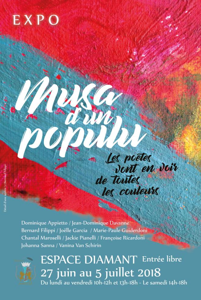 Exposition Musa d'un populu. Les poètes en voient de toutes les couleurs !