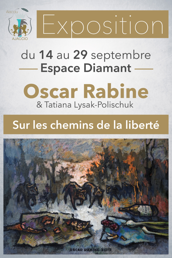 Exposition : Oscar Rabine & Tatiana Lysak-Polischuk : Sur les chemins de la liberté