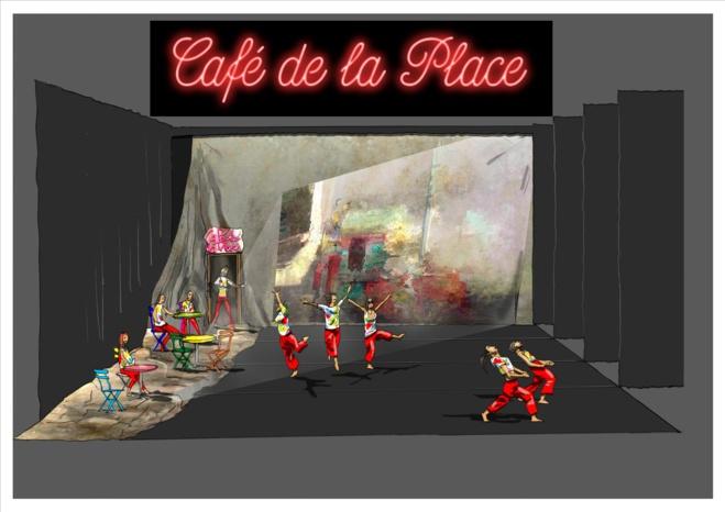 Danse / Café de la place