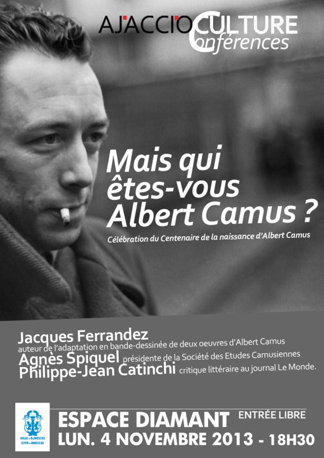 Une conférence sur Albert Camus