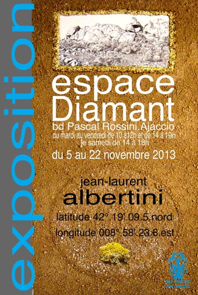 """Exposition : """"oeuvres de Jean-Laurent Albertini"""""""