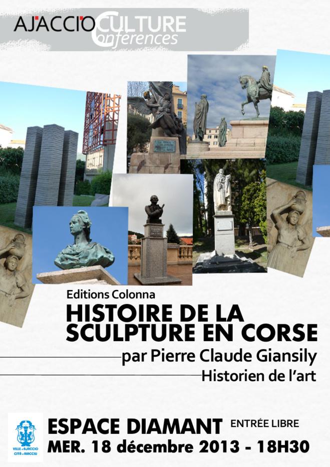 """Espace Diamant : Conférence : """"Histoire de la sculpture en Corse"""""""