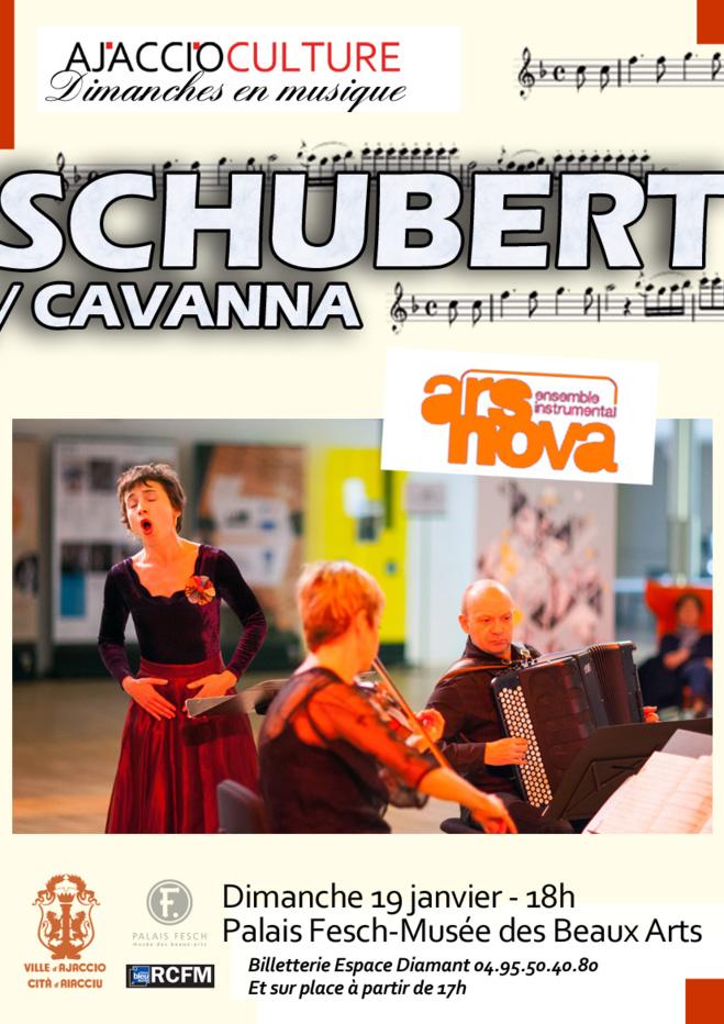 Palais Fesch-Musée des beaux Arts : Schubert/Cavanna