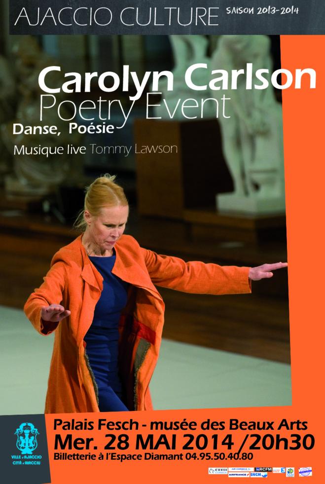 Carolyn Carlson : Poetry Event