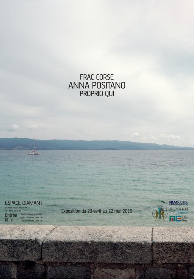 Exposition « Propiu Qui » d'Anna Positano en partenariat avec le Frac Corse