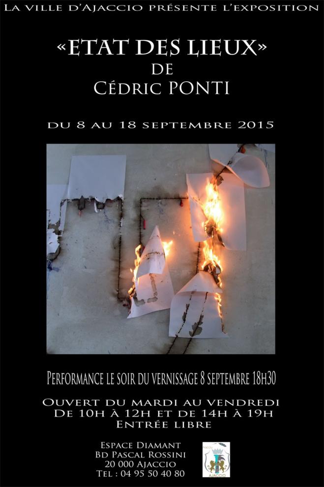 """Exposition """"Etat des lieux"""" De Cédric PONTI"""