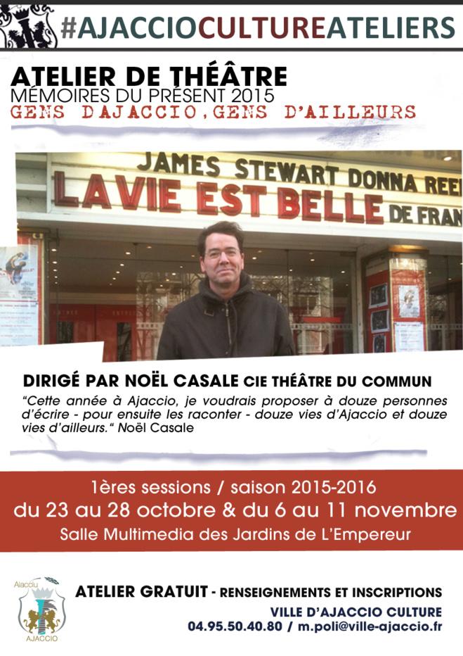 """Reprise de l'Atelier théâtre """"La vie est belle"""""""