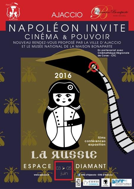 """Copie de Du 3 au 5 juin, Napoléon invite la Russie, """"Cinéma et pouvoir """""""