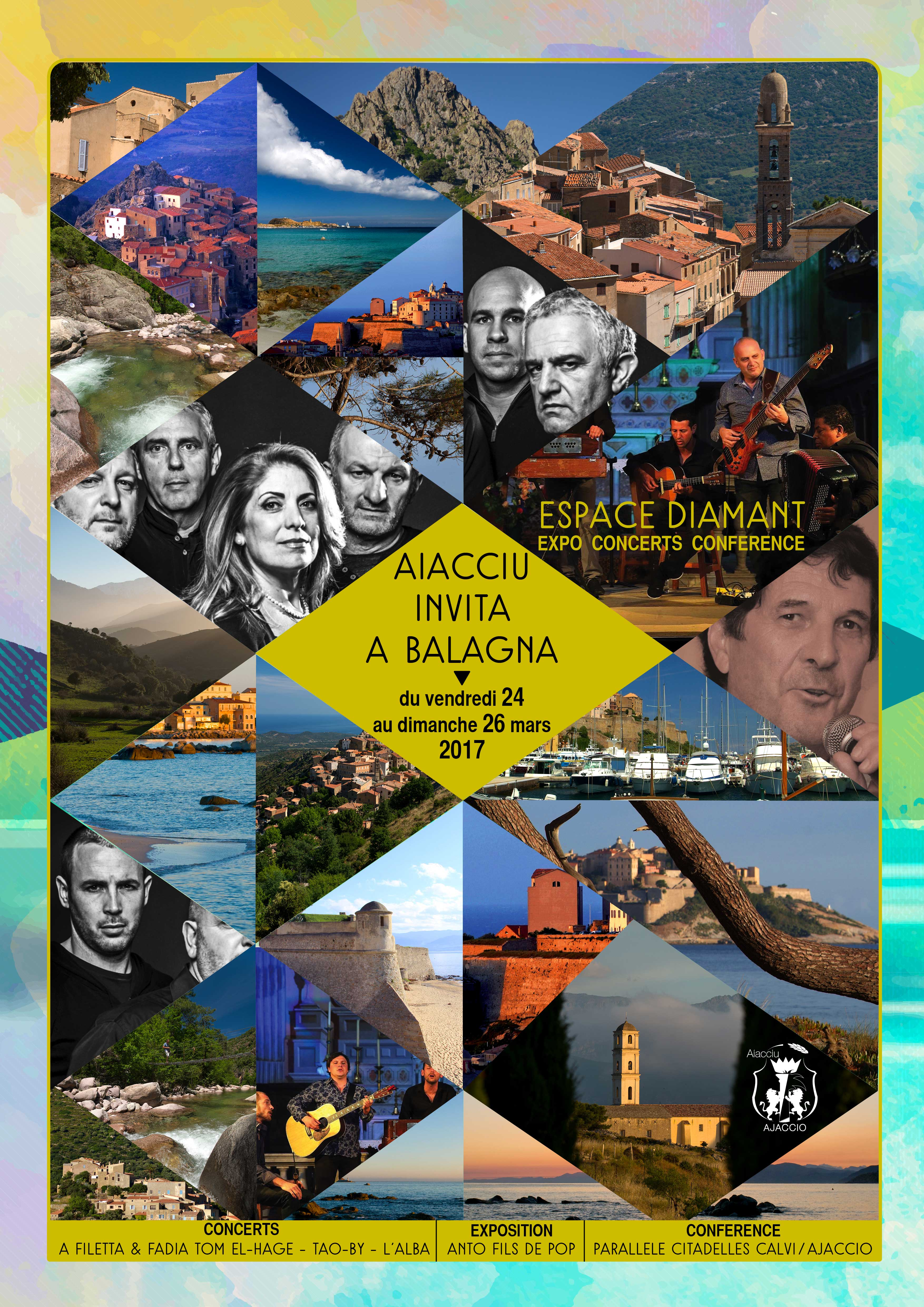 Concerts, Exposition, conférences... Ajaccio Invite la Balagne