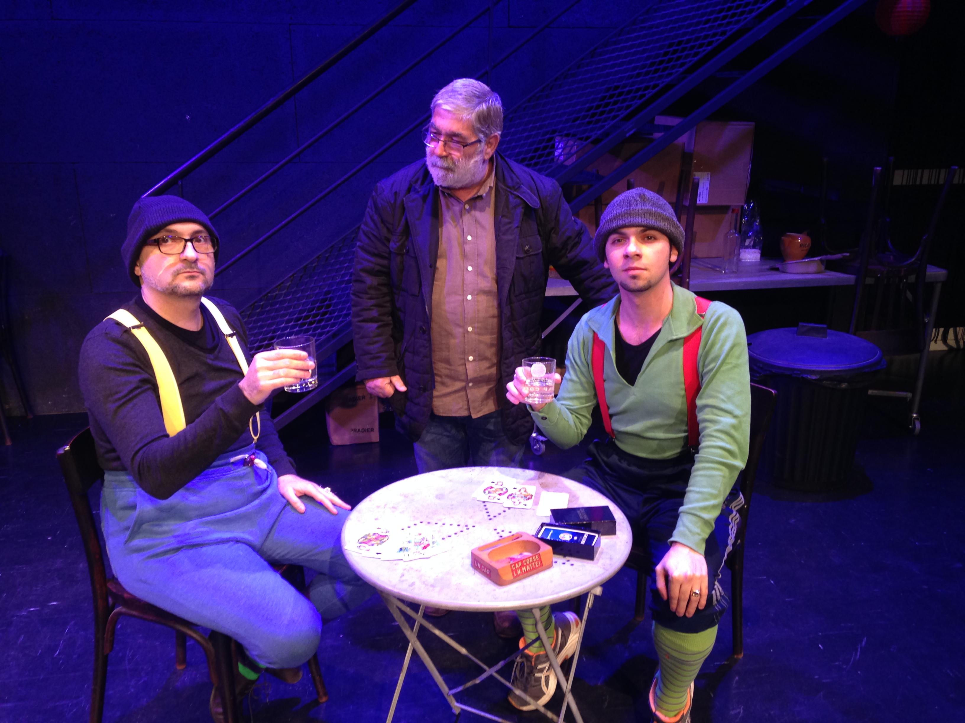 Festa di a lingua corsa : Théâtre à l'Aghja, Bar par la Cie Teatrinu