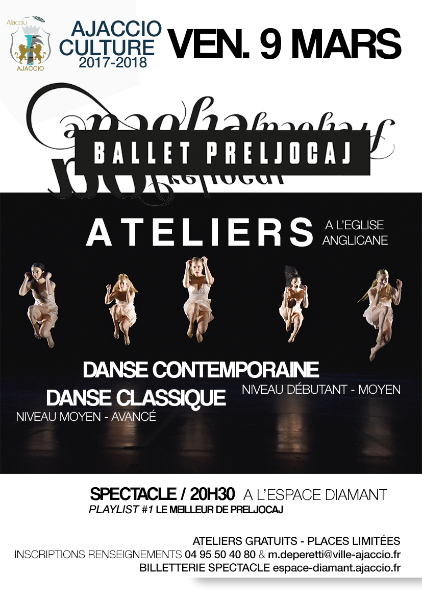 Ateliers de danse avec le ballet Preljocaj !