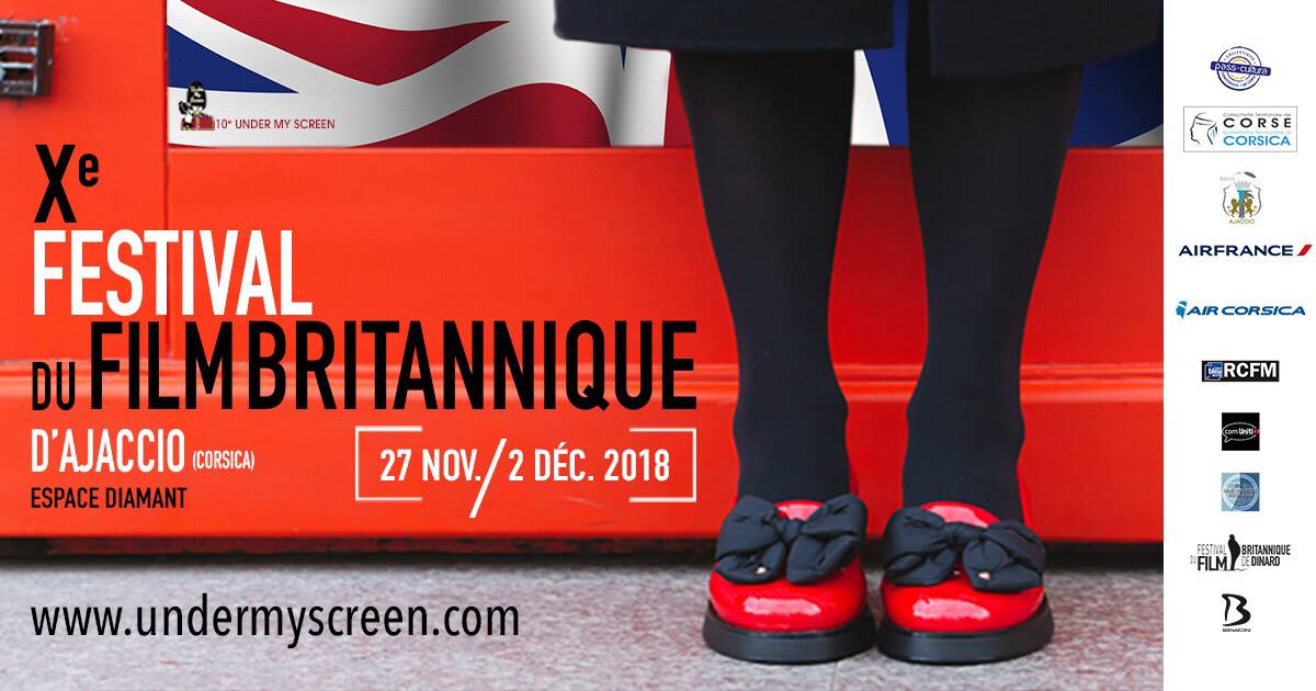Under My Screen, le festival du film Britannique d'Ajaccio