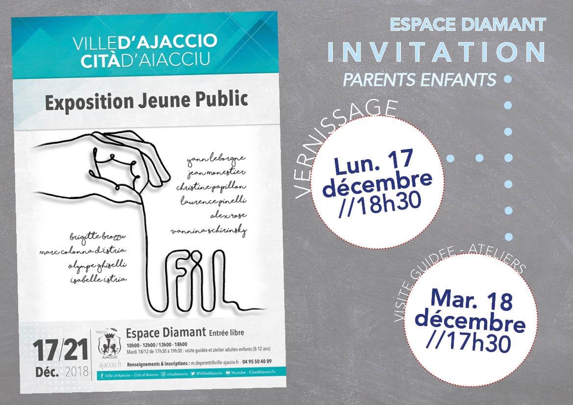 Exposition Jeune public du 17 au 21 décembre