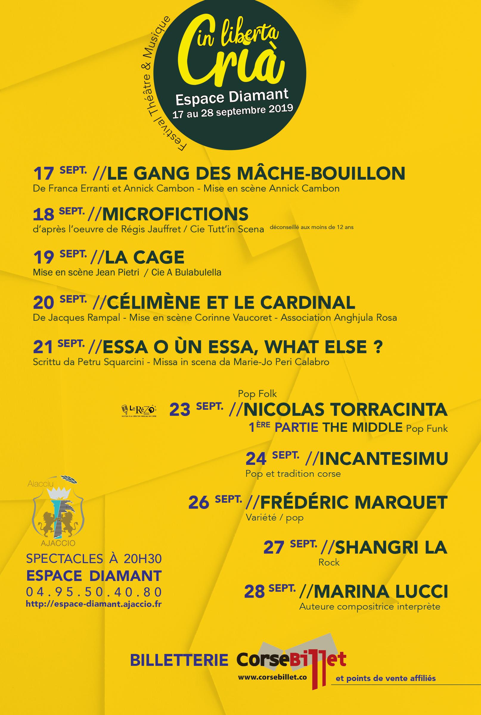 Crià in Liberta : Festival Théâtre et Musique