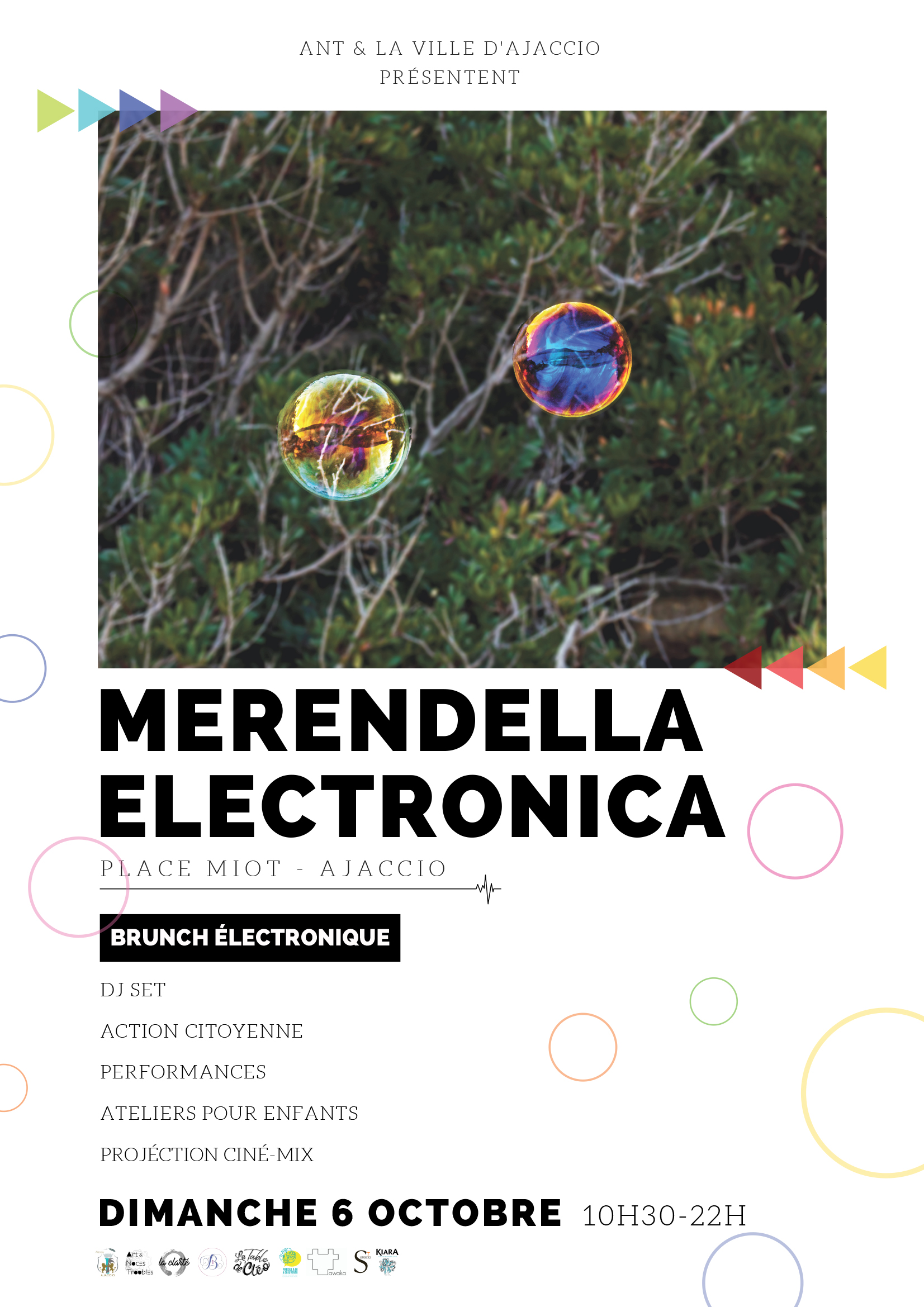 Dimanche 6 octobre / Merendella Electronica