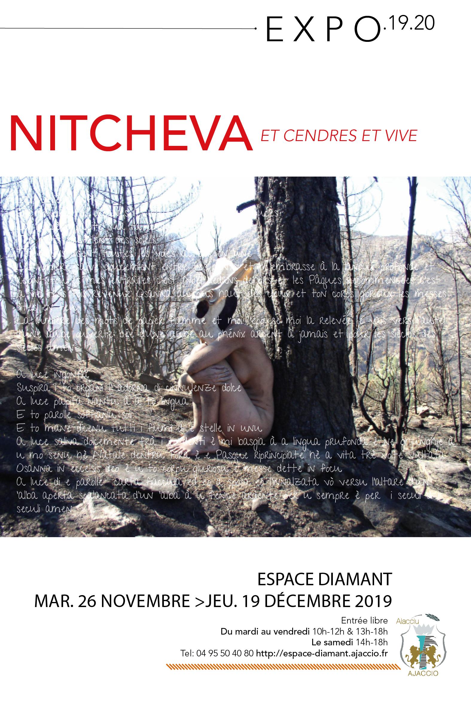 EXPOSITION Et cendres et vive / Nitcheva