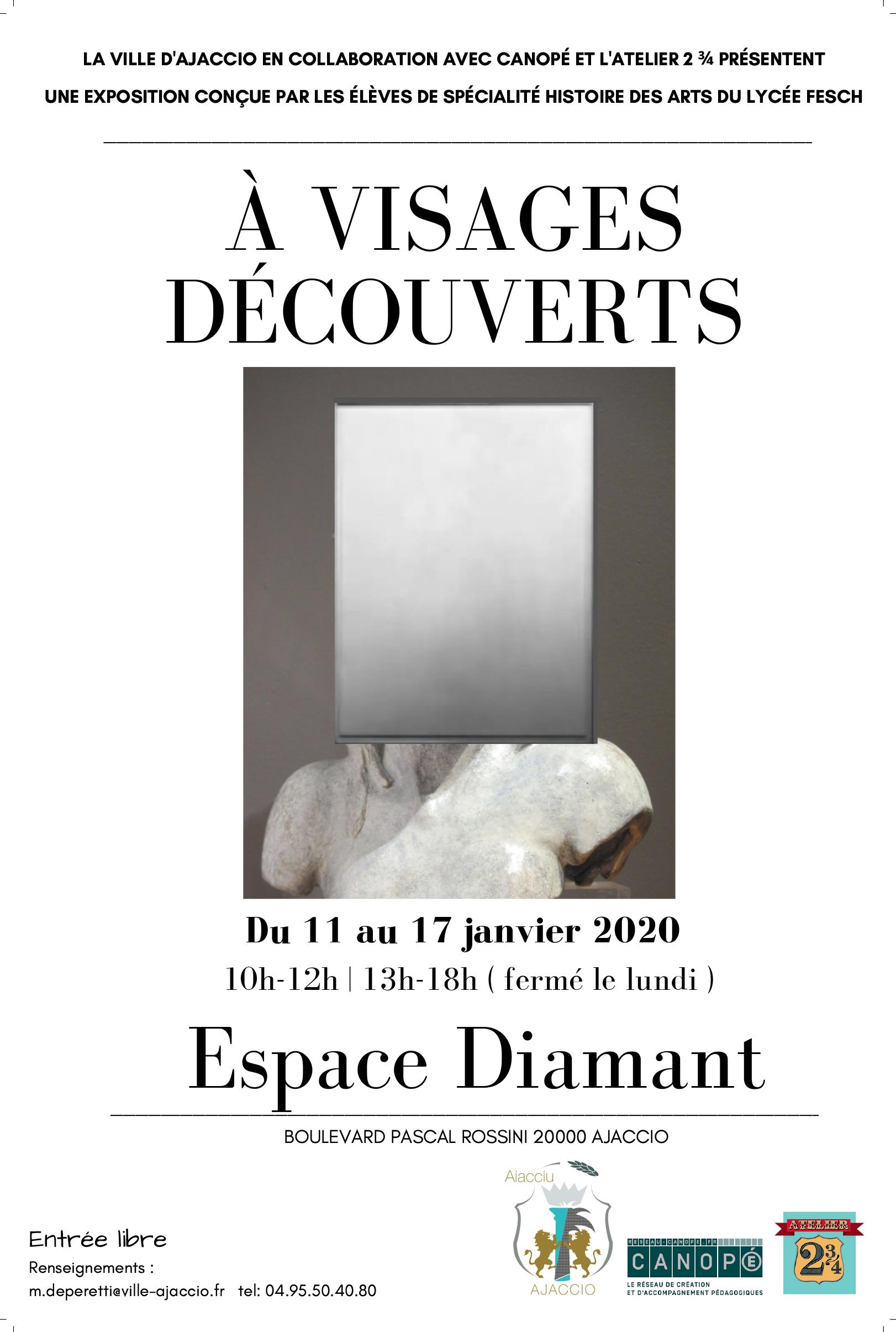 Exposition / A Visages découverts