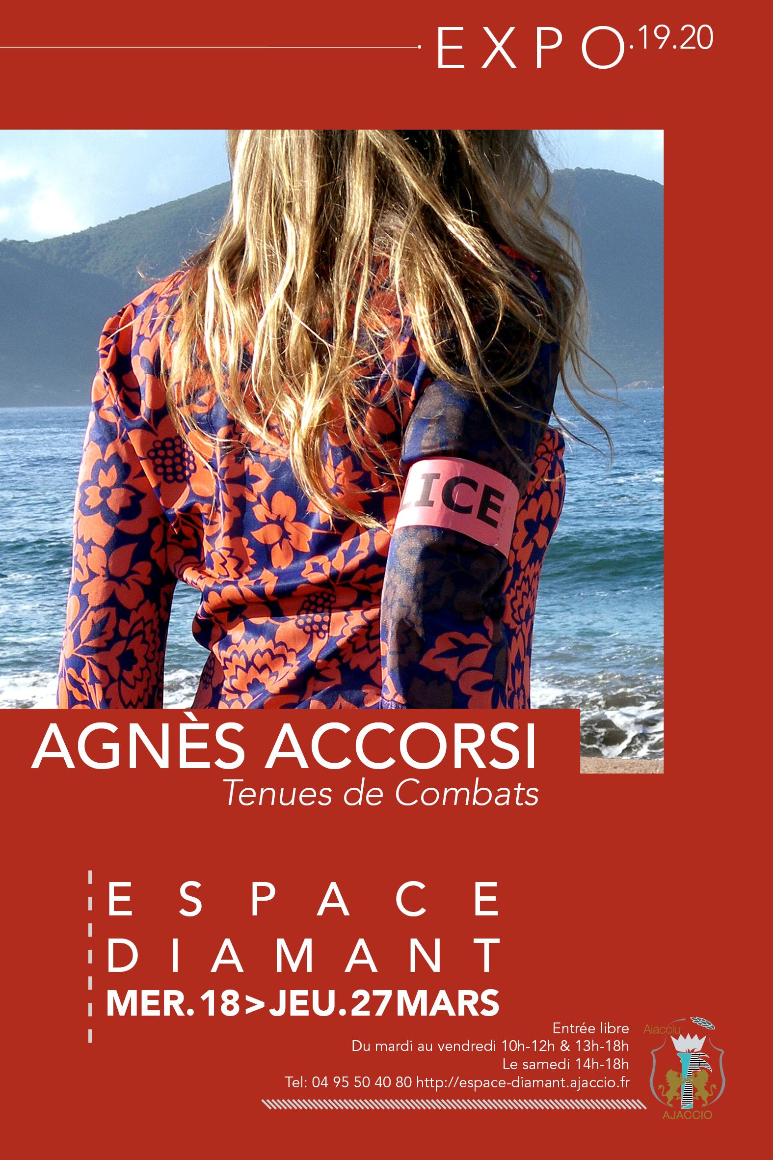 Exposition / Tenues de combats / Agnès Accorsi
