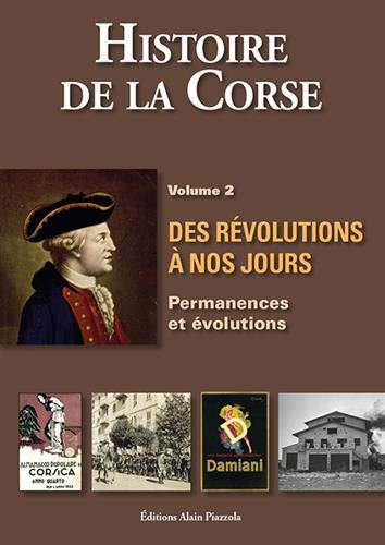 """Conférence """"la Corse aux XVIIIe et XIXe siècles. Histoire de la Corse des révolutions à nos jours, volume 2"""""""
