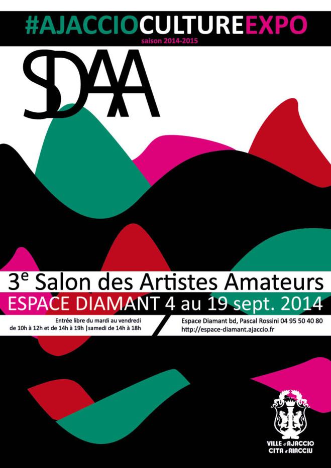 3ème Salon des Artistes amateurs du 4 au 19 septembre 2014