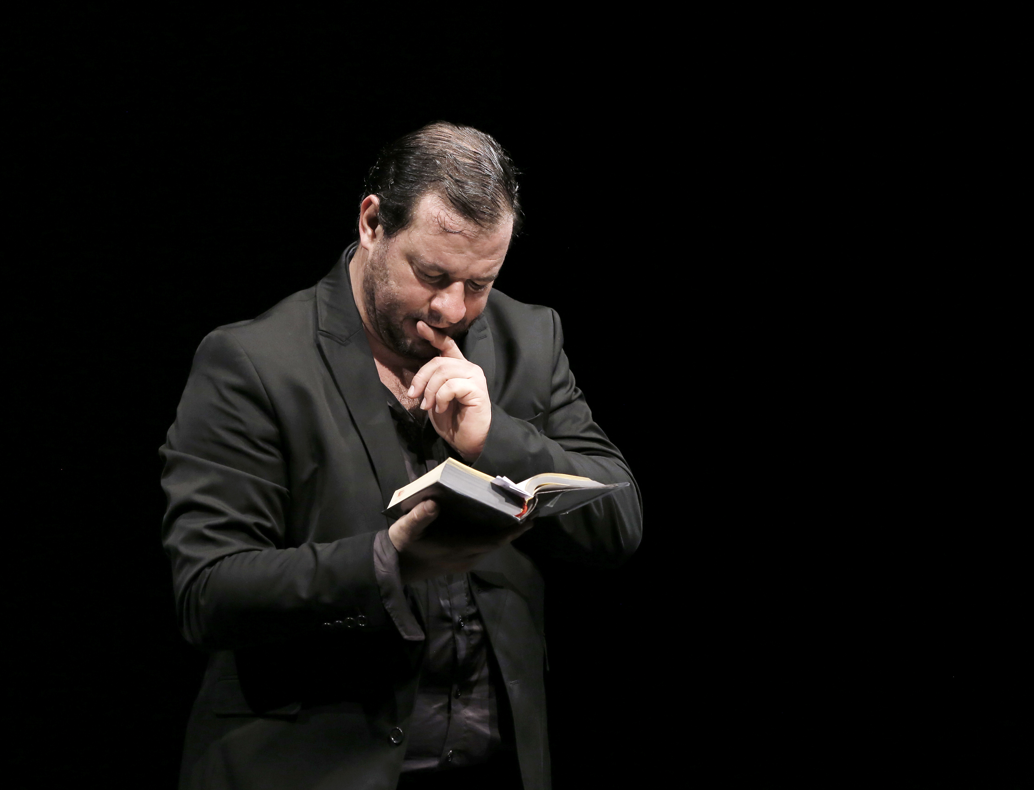 "Jeudi 2 avril  ""Macbeth (the notes)"" / Brillant, cocasse, irresistible..."