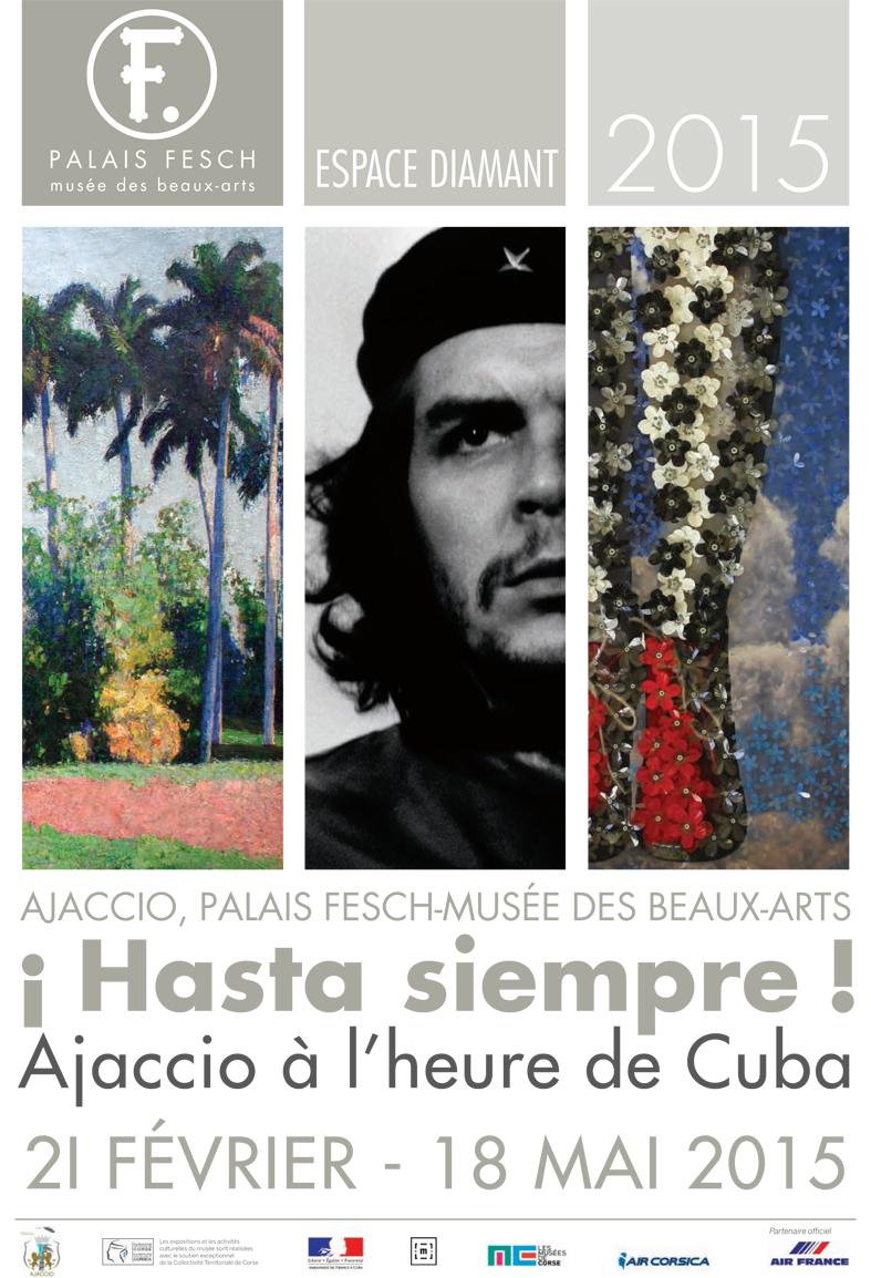 Hasta siempre, Ajaccio à l'heure de Cuba : Exposition de photographies de la Fototeca de Cuba du 20 février au 18 avril