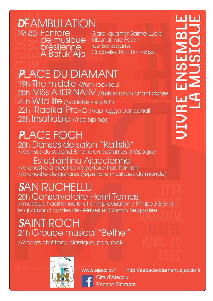 21 juin : Ajaccio fête la musique !