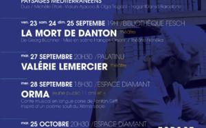 Septembre et octobre, le spectacle vivant à l'Espace Diamant