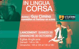 Atelier de théâtre en langue corse animé par Guy Cimino - Cie Teatrinu- A partir du 29 octobre -