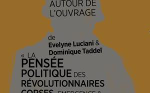 Lundi 30 janvier : Conférence autour des révolutionnaires Corses