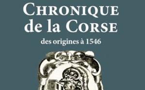 """Conférence à l'Espace Diamant / lundi 2 octobre : """"Les grands chroniqueurs corses""""."""