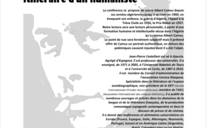 Conférence de Jean-Pierre Castellani autour d'Albert Camus