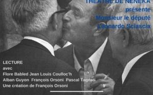 Lecture par le théâtre NéNéka : 'Monsieur le député' de Leonardo Sciascia