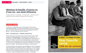 Conférence / Conférence Une famille corse. 1200 ans de solitude  par Robert COLONNA d'ISTRIA
