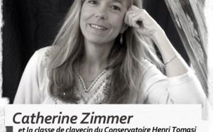 Les Dimanches en Musique : Concert de Catherine Zimmer & la classe de clavecin du Conservatoire Henri Tomasi