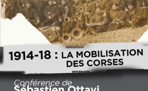 Conférence sur la Grande Guerre : 1914-18 : la mobilisation des Corses