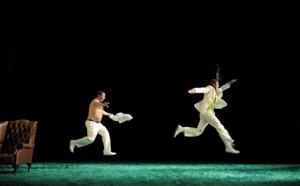 """Mardi 23 février Théâtre: """"30-40 Livingstone"""", une comédie délirante avec un Sergi Lopez inquiétant et génial!"""
