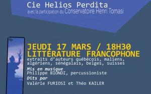 Lecture à la Bibliothèque : La littérature Francophone