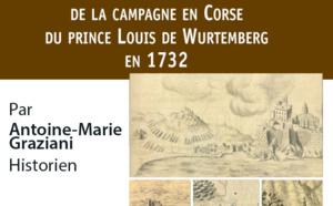 Mardi 29 mars, 18h30 Conférence d'Antoine-Marie Graziani