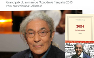 Mercredi 4 mai Conférence de Boualem Sansal autour de son ouvrage « 2084 La fin du monde »