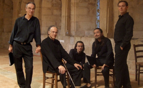 """Vendredi 4 mars Concert: Tavagna et l'ensemble Gilles Binchois """"Polyphonies en dialogue"""" autour de chants sacrés"""